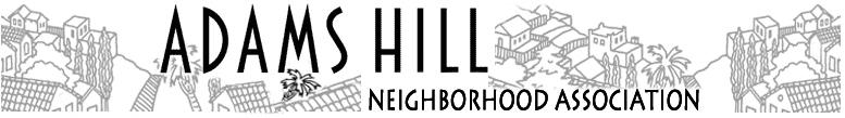 Adams Hill Neighborhood Association